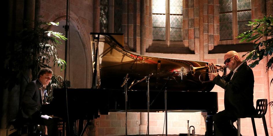 Resultado de imagen para Jacky Terrasson y el trompetista Stéphane Belmondo